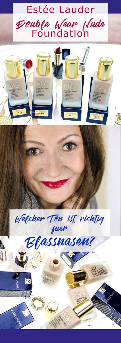 [beinhaltet werbung]Estée Lauder Double Wear Nude Water Fresh Makeup SPF 30   Lighweight Foundation
