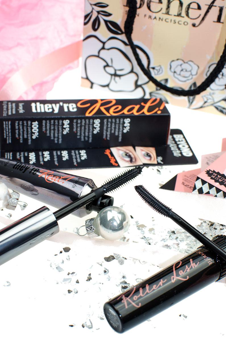 Gewinne dein benefit Mascara Duo mit They're Real & Roller Lash Wimperntusche für big lashes [pr sample | beinhaltet werbung]