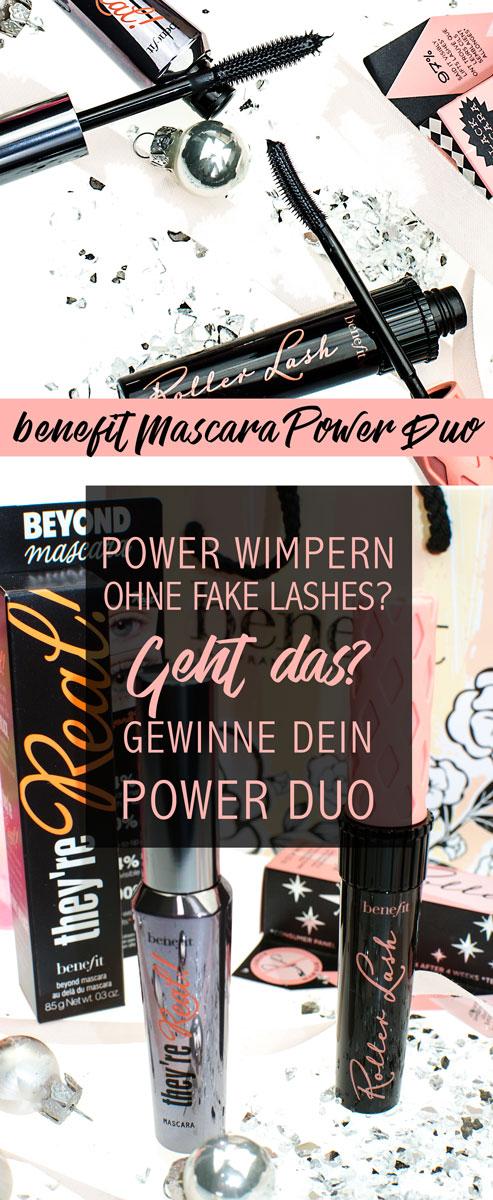 Gewinne dein benefit Mascara Duo mit They're ea 6 Roller Lash Wimperntusche für big lashes [pr sample | beinhaltet werbung]