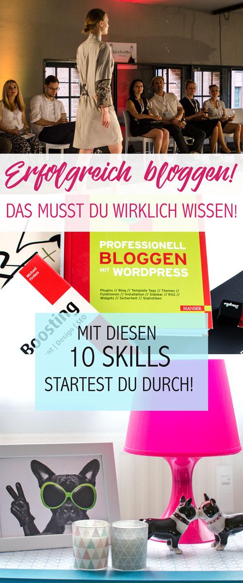 Erfolgreich bloggen! So startest du als Blogger durch! Diese Skills muss du haben, um mit deinem Blog erfolgreich zu sein.