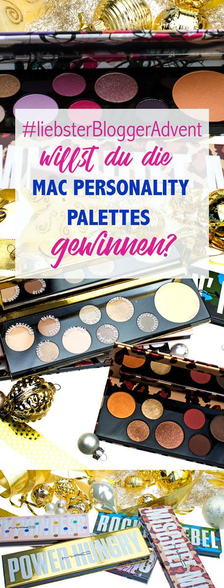 Gewinne die MAC PERSONALITY PALETTES beim mein #liebsterBloggerAdvent | [pr sample | beinhaltet werbung]