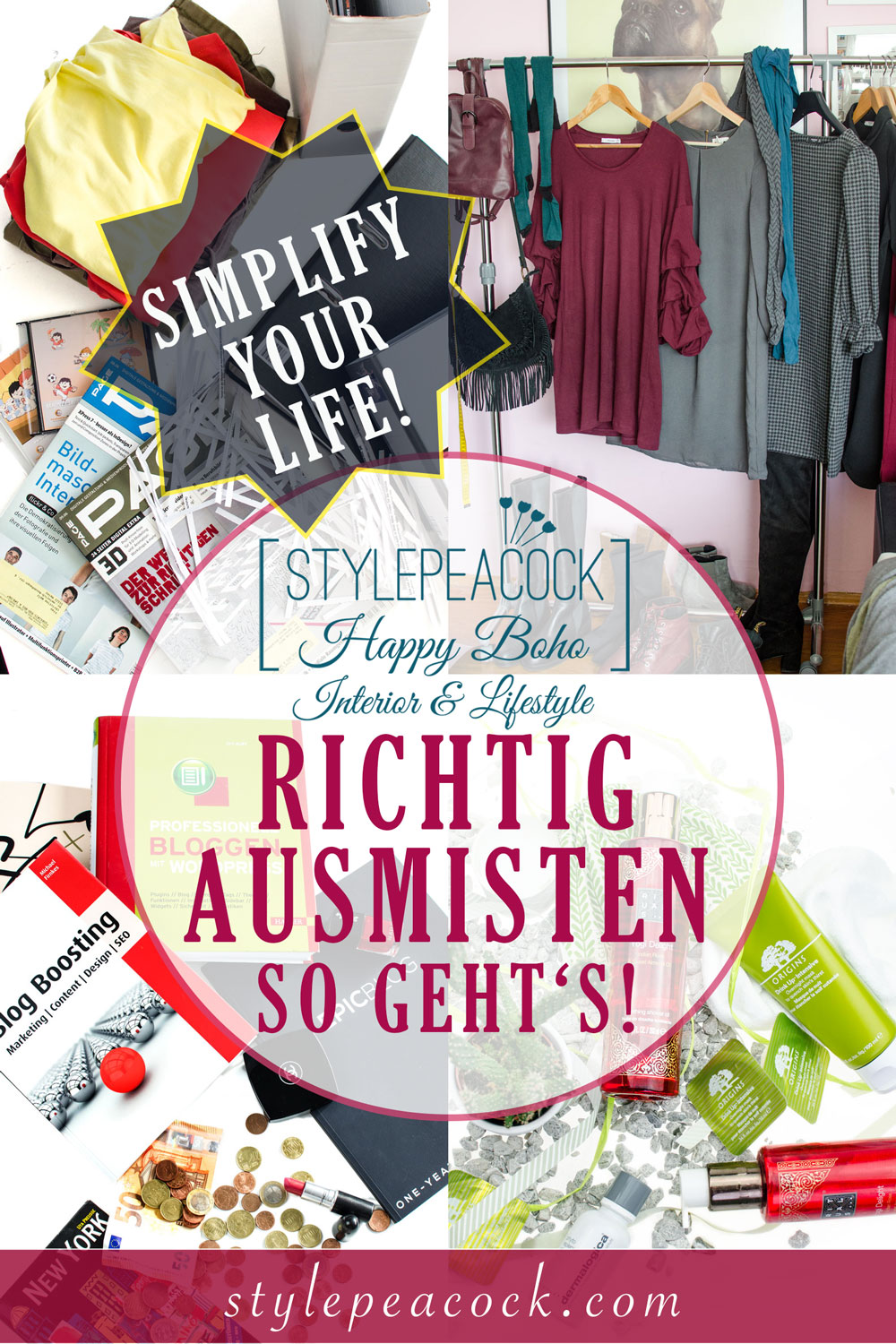 Richtig Ausmisten | Simplify your Life