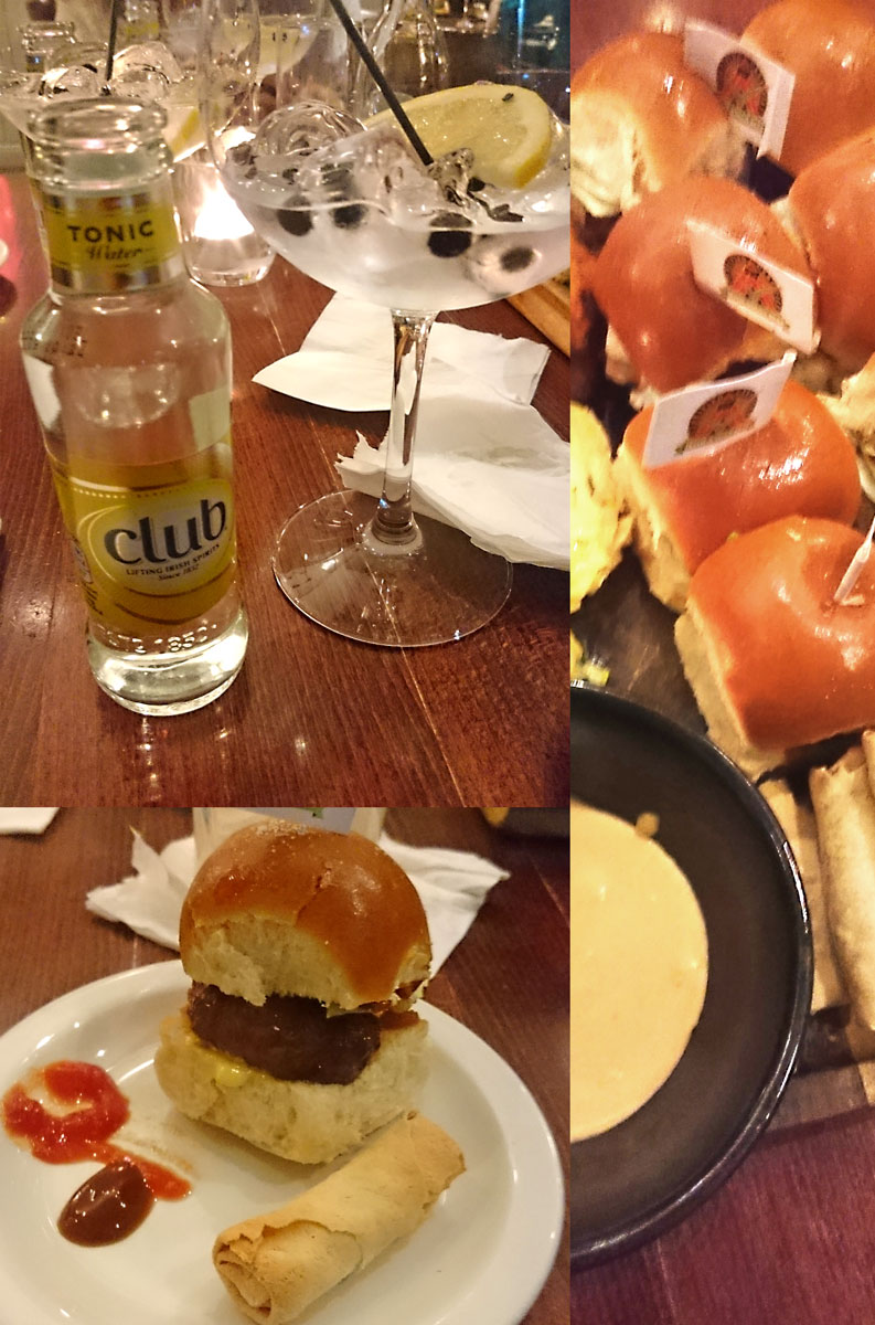 [anzeige]Fingerfood & Gin Tonic im Ballsbridge Hotel in Dublin