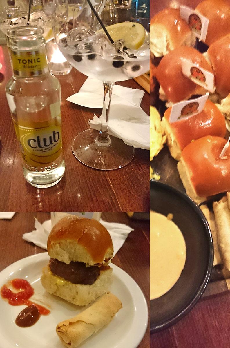 [anzeige]Fingerfood & Gin Tonic im Ballsbridge Hotel in Dublin
