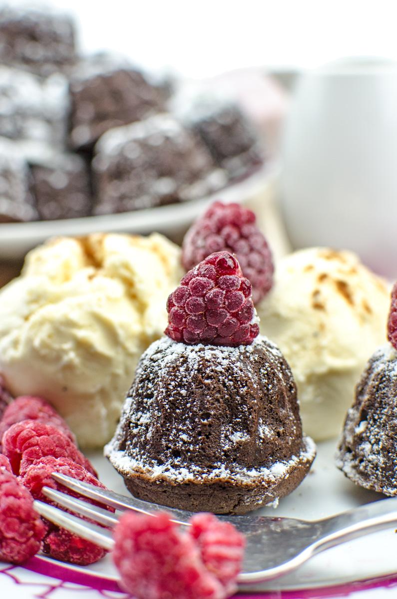Evergreen Content Food: WasMini Gugelhupf Cinnamon Brownies | Yummy Gugelhupf Brownies mit Zimt für Schokoladen-Fans