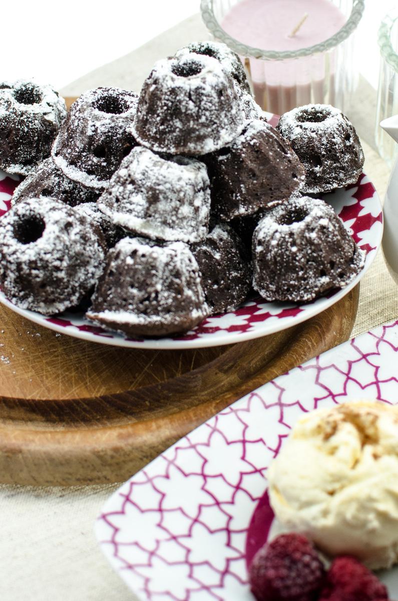 Brownies | Mini Cinnamon Brownie Gugelhupf |