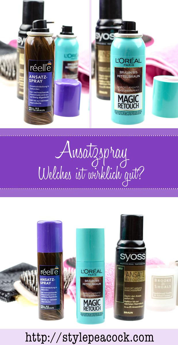 Ansatzspray | Réell'e, L'Oréal Magic Retouch & Suyoss Ansatz Retoucher im Test! Welches ist wirklich gut?