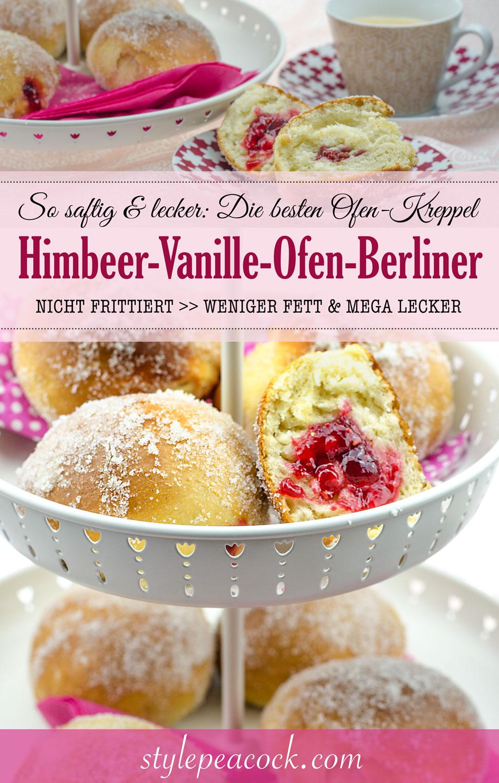 Die besten Ofen-Kreppel: Fettarme Berliner Pfannkuchen aus Hefeteig, nicht nur zu Karnveval