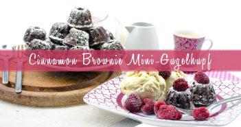CINNAMON MINI BROWNIE GUGELHUPF | SO YUMMY!