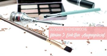 "#meine3liebstenAugenpinsel Themenwoche ""Meine 3 liebsten Augenpinsel"" mit Zoeva, benefit & bh Cosmetics"