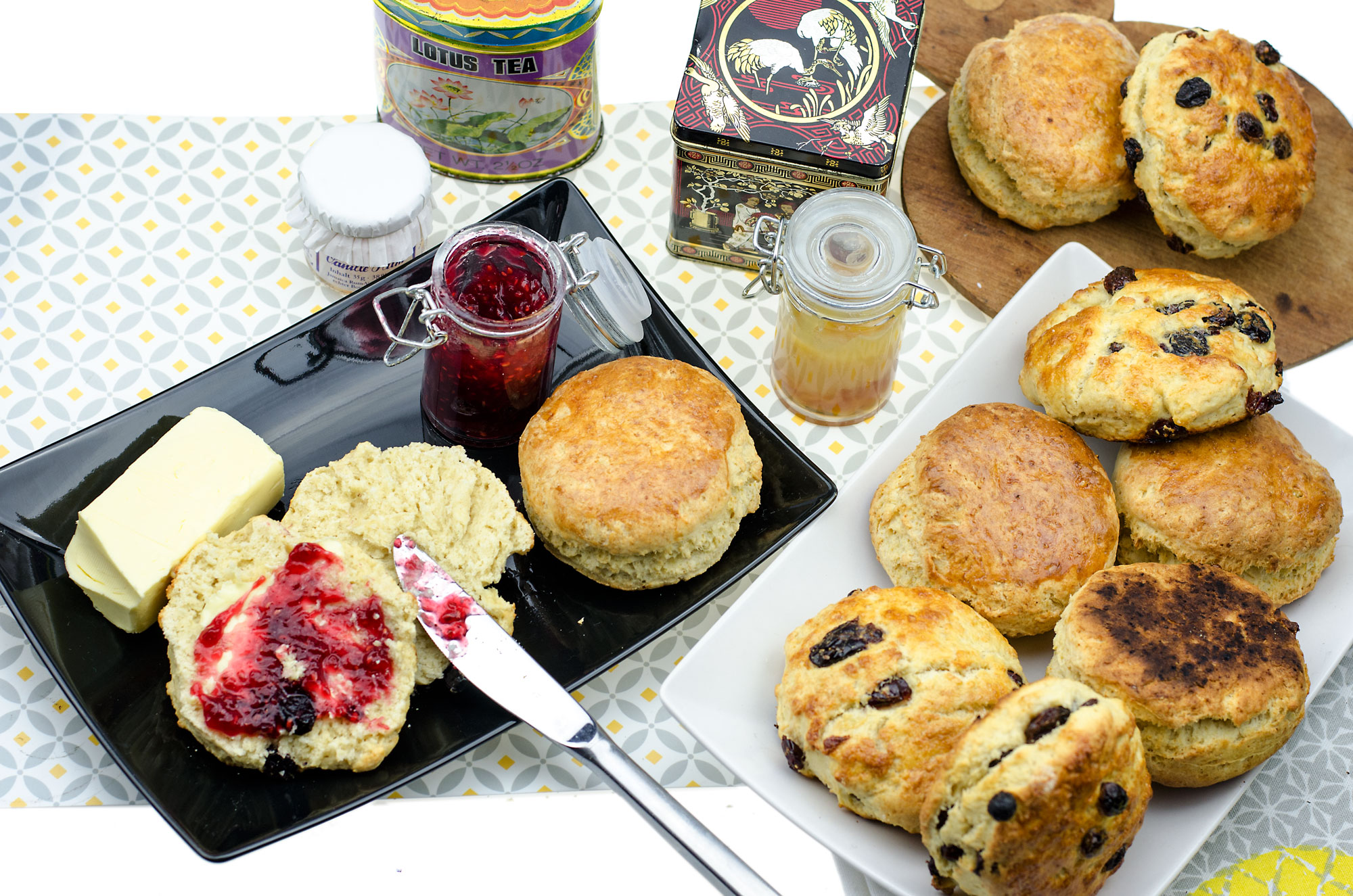 IRISH SCONES REZEPT Einfache, leckere & fluffige Tea Time Brötchen