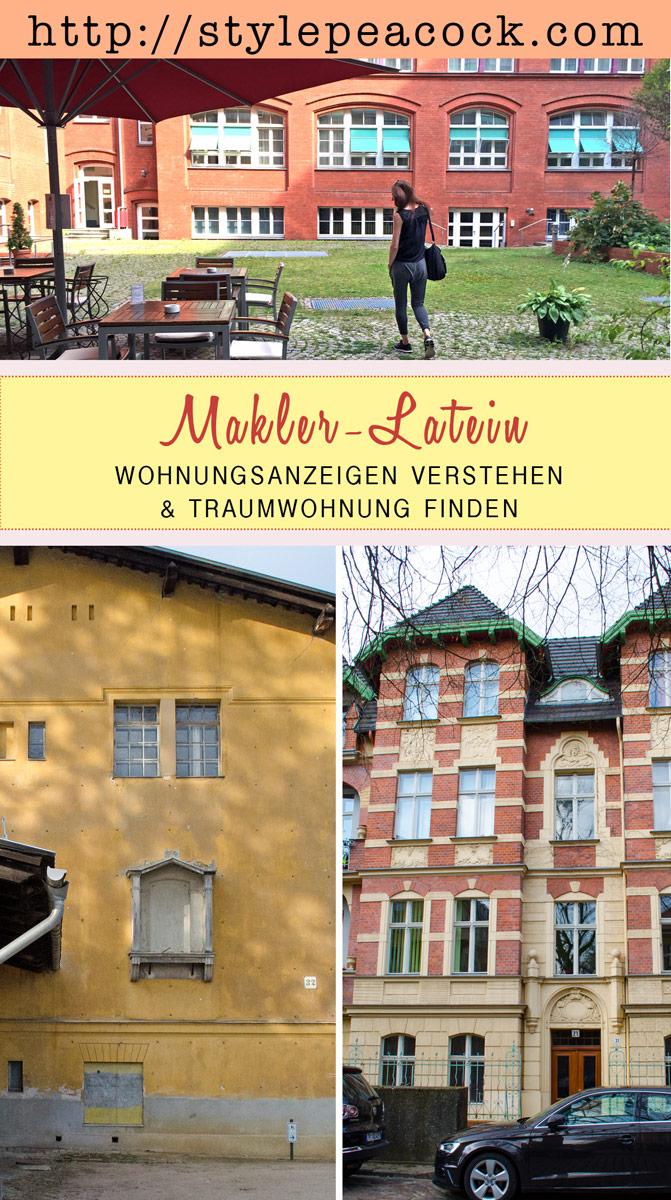 Traum-Wohnung finden & Wohnungsanzeigen + Makler-Latein verstehen