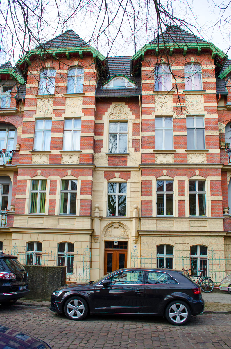 Traumwohnung gefunden! Der Weg zur neuen Heim | Altbau Potsdam