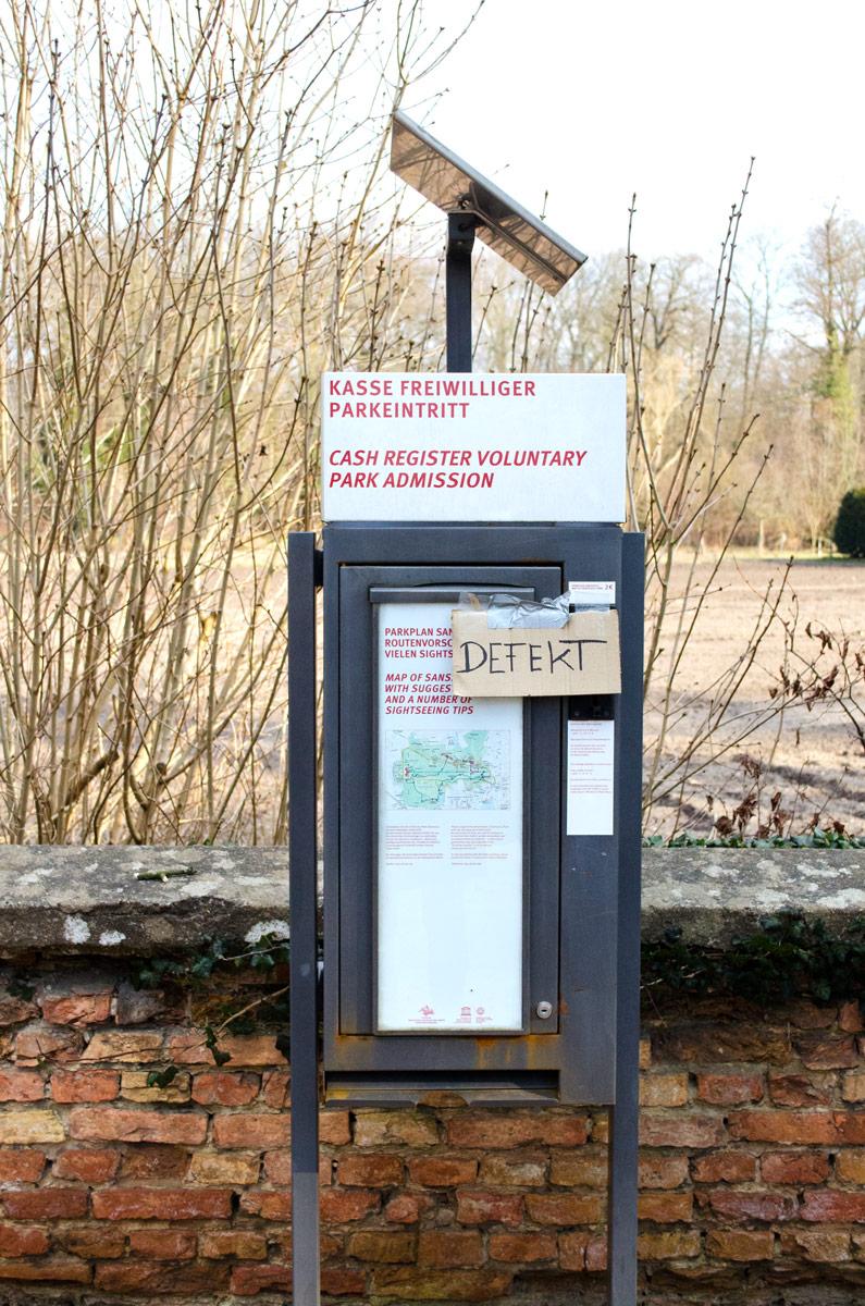 Traumwohnung gefunden! Der Weg zur neuen Heim   Schlosspark Sanssouci