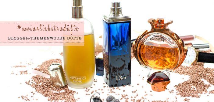 #meineliebstendüfte Blogger Themenwoche Düfte: Dior Addict, Paco Rabanne Olympéa & Clinique Aromatics Elixir
