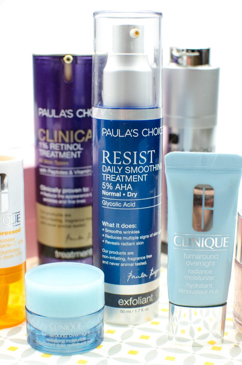 [beinhaltet affiliate links & teilweise pr samples | werbung]Junge Haut durch chemisches Peeling, Retinol & Skin Booster mit Vitamin C