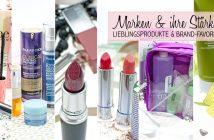 Welches Produkt von welcher Marke? Brand-Lieblinge & Marken-Favoriten