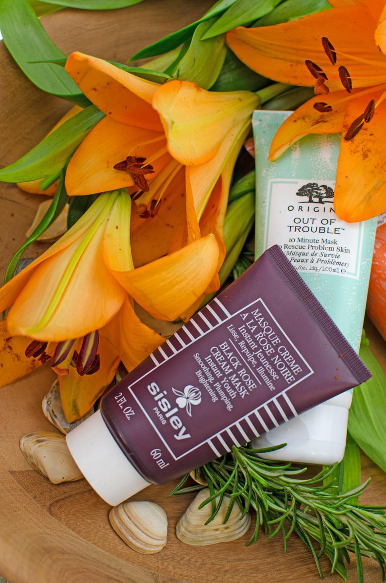[anzeige]#meine3liebstengesichtsmasken Blogger Themenwoche zu den 3 liebsten Gesichtsmasken | Miene Masken Favoriten von Origins, und Sisley Sisley Masque Crème à la Rose Noire Maske