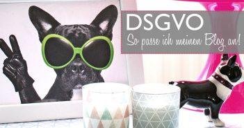 DSGVO | Wie passe ich meinen Blog an die Datenschutzrichtlinien an?