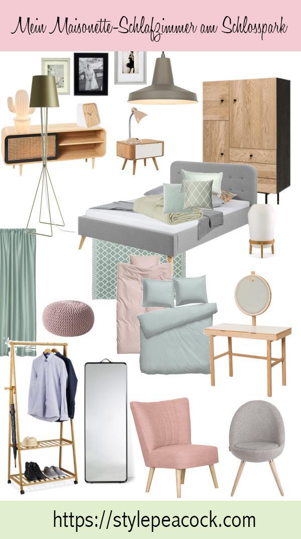 Meine neues Schlafzimmer in meiner Potsdamer Maisonette