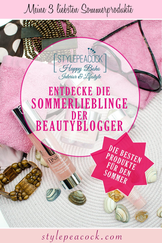[UNBEZAHLTE WERBUNG] Sommerprodukte | #meine3liebstenSommerprodukte | Clinique Moisture Surge, benefit Hoola Bronzer & Origins Ginger Essence