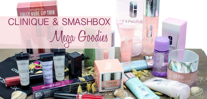 CLINIQUE UND SMASHBOX | MEGA GOODIES & RABATTE