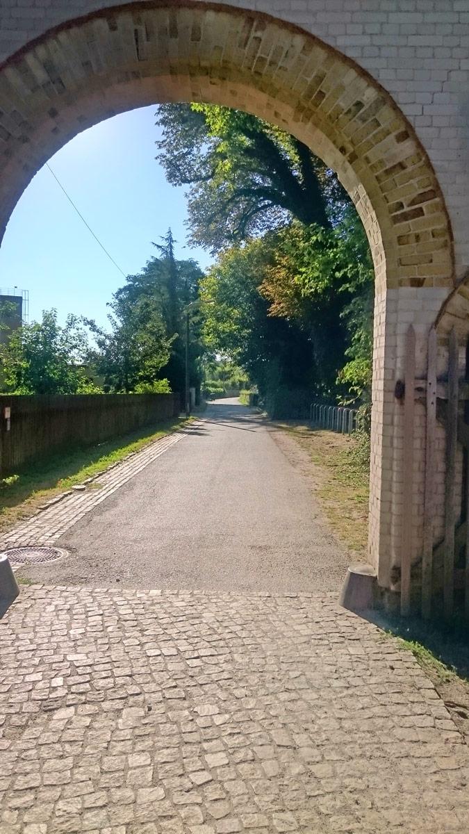 Joggen im Park Sanssouci am frühen Morgen | Der Ausgang aus dem Park