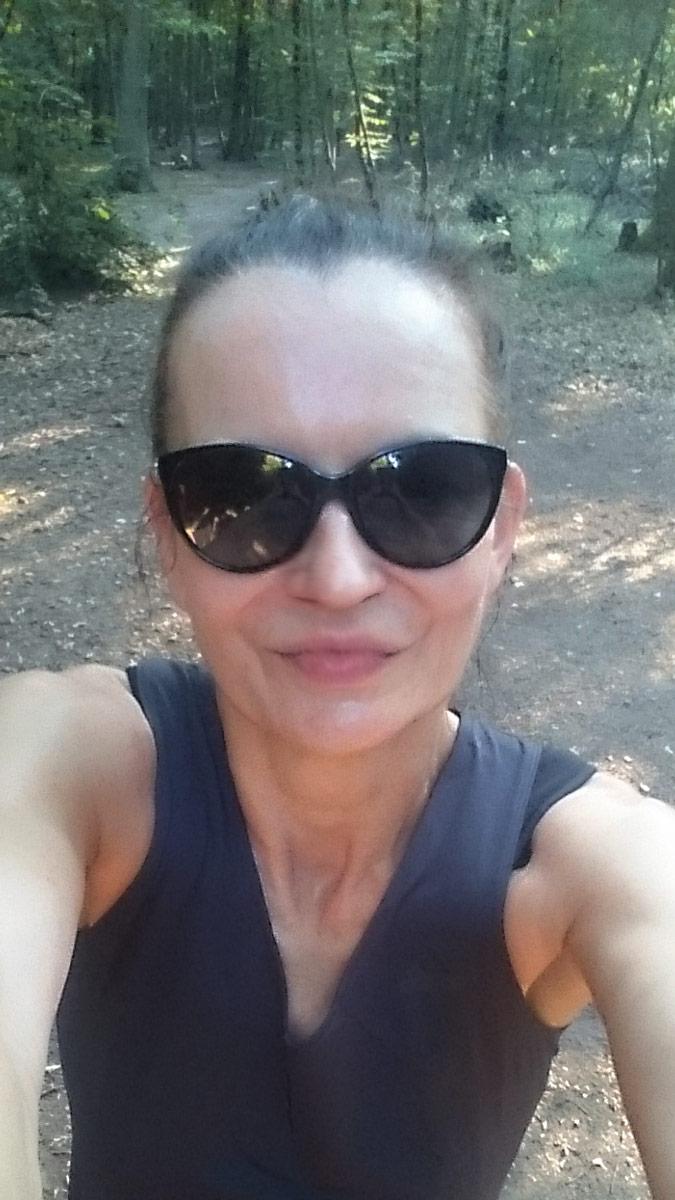 Joggen im Park Sanssouci am frühen Morgen | #nomakeup Selfie