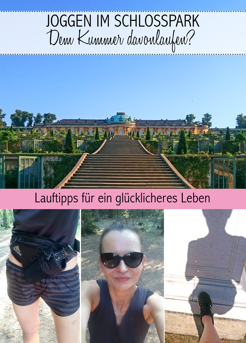 Joggen im Park Sanssouci am frühen Morgen | Schloss Sanssouci: Den Sorgen davonlaufen | Lauftipps für ein glücklicheres Leben