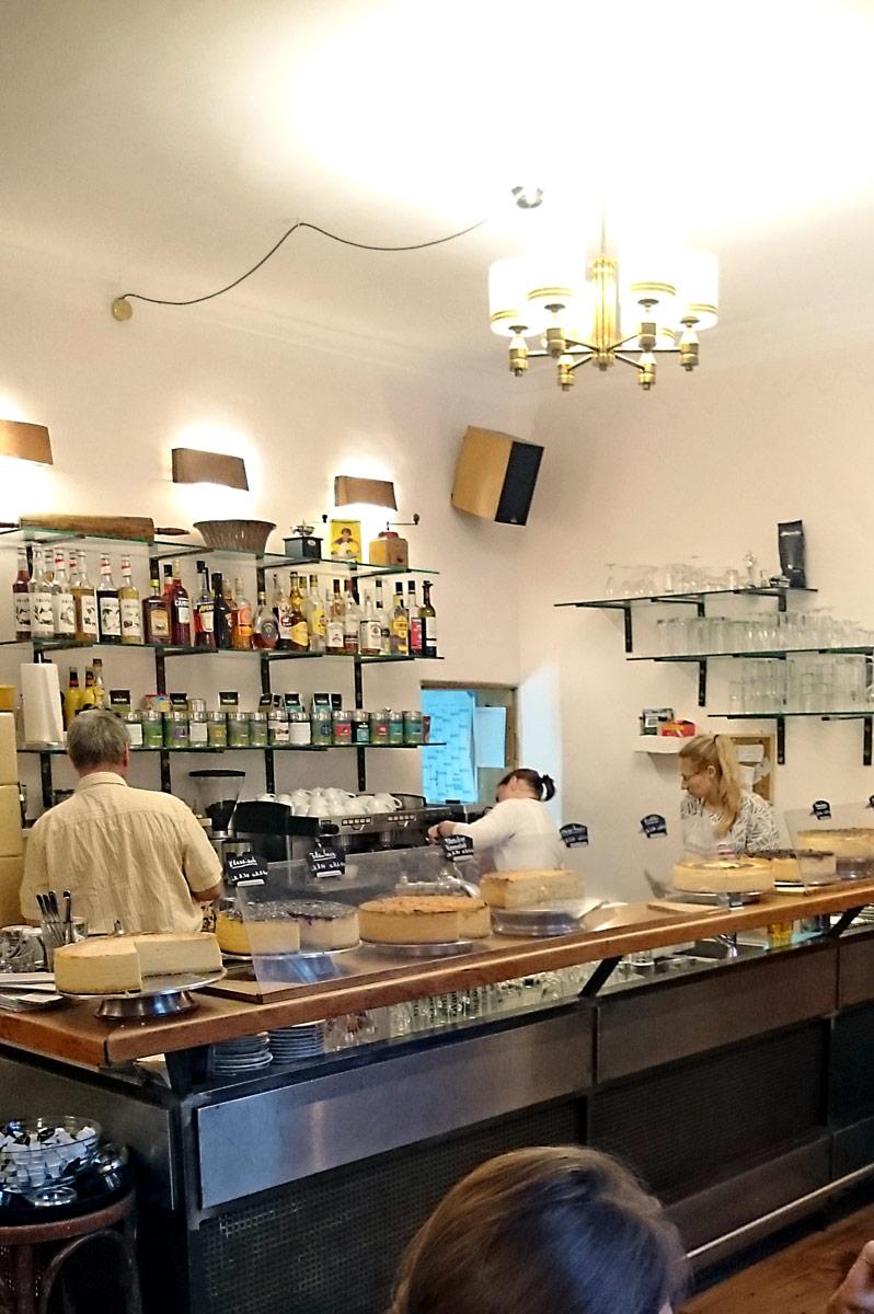 Das Käsekuchen Café im Holländischen Viertel