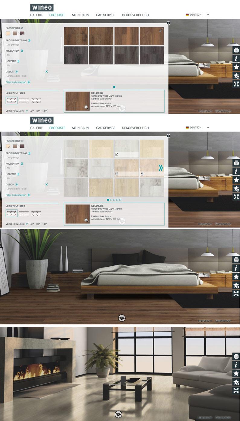 [beinhaltet werbung]wineo | virtuller Bodendesigner für Laminat, Vinyl & Designboden