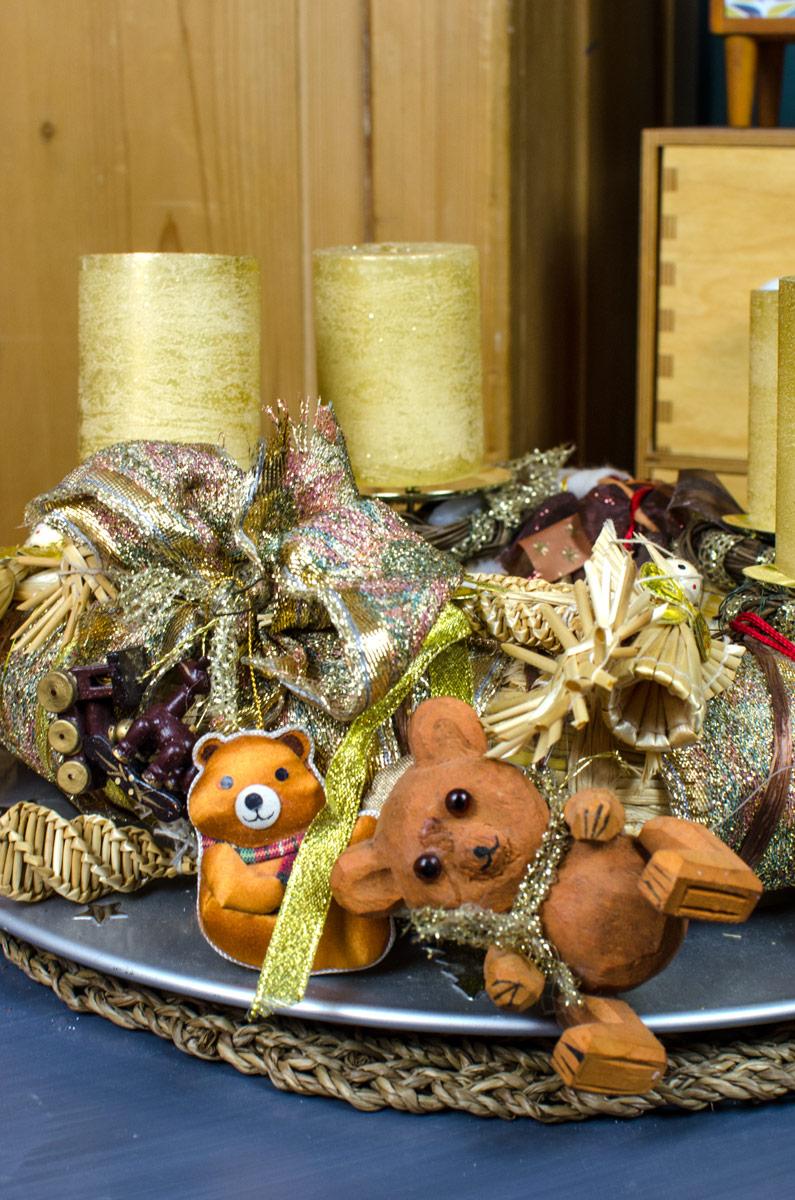 [beinhaltet unbezahlte werbung]Moderner Adventskranz und Scandi Boho Weihnachtsdeko für Advent & Weihnachten
