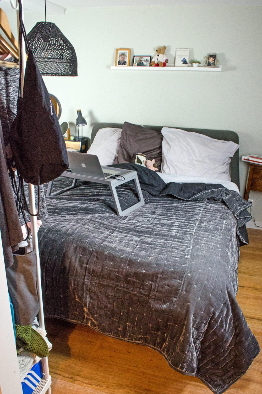 [unbeauftragte werbung ]affiliate links] Bedroom Make Over: Kleines Schlafzimmer optimal nutzen