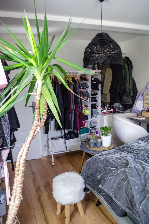 [unbeauftragte werbung ]affiliate links] Bedroom Make Over: Kleines Schlafzimmer optimal nutzenn