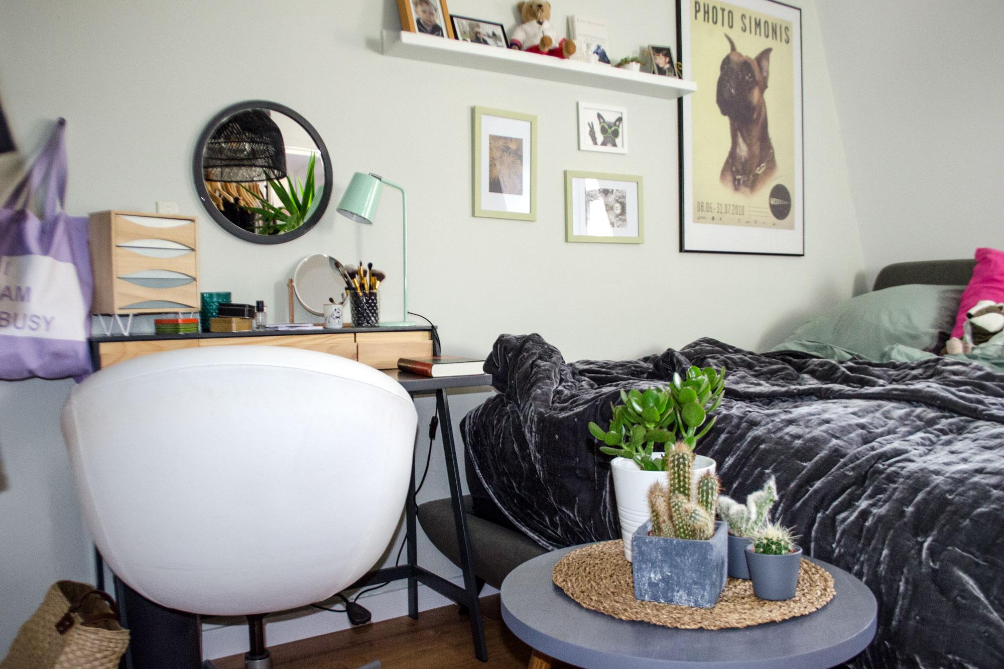 [unbeauftragte werbung]Bedroom Make Over : Kleines schlafzimmer optimal nutzen