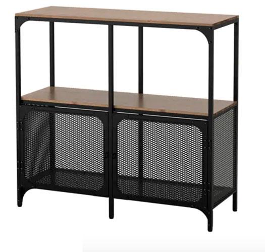 Möbel von Ikea in Bauhaus Tradition: Fjaellbo Regal