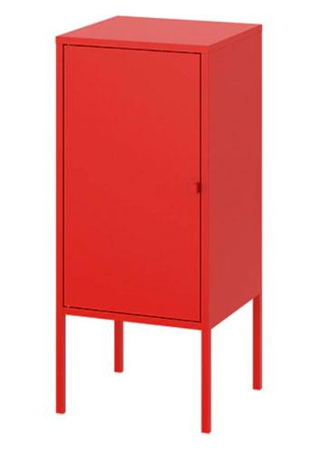 Möbel von Ikea in Bauhaus Tradition: Lixult Stahlschrank