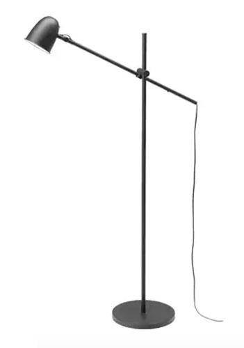 Möbel von Ikea in Bauhaus Tradition: Skurup Stehlampe