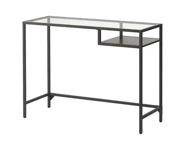 Möbel von Ikea in Bauhaus Tradition: Vittsjö Stahltisch