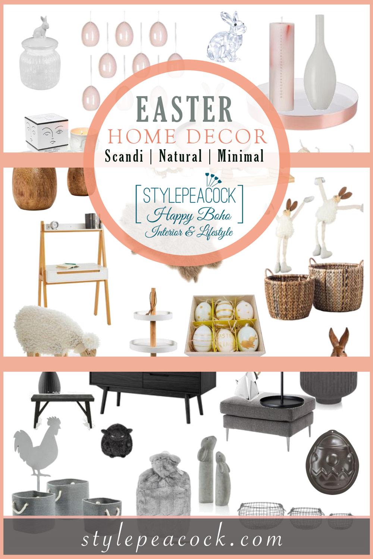 [anzeige]Ostern | Oster-Dekoration in Scandi, Natural & Minimal Style