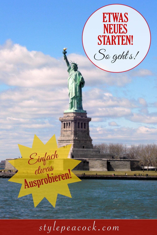 [anzeige]Starte etwas Neues | Neues probieren mit der Debit Mastercard | NYC Liberty Island