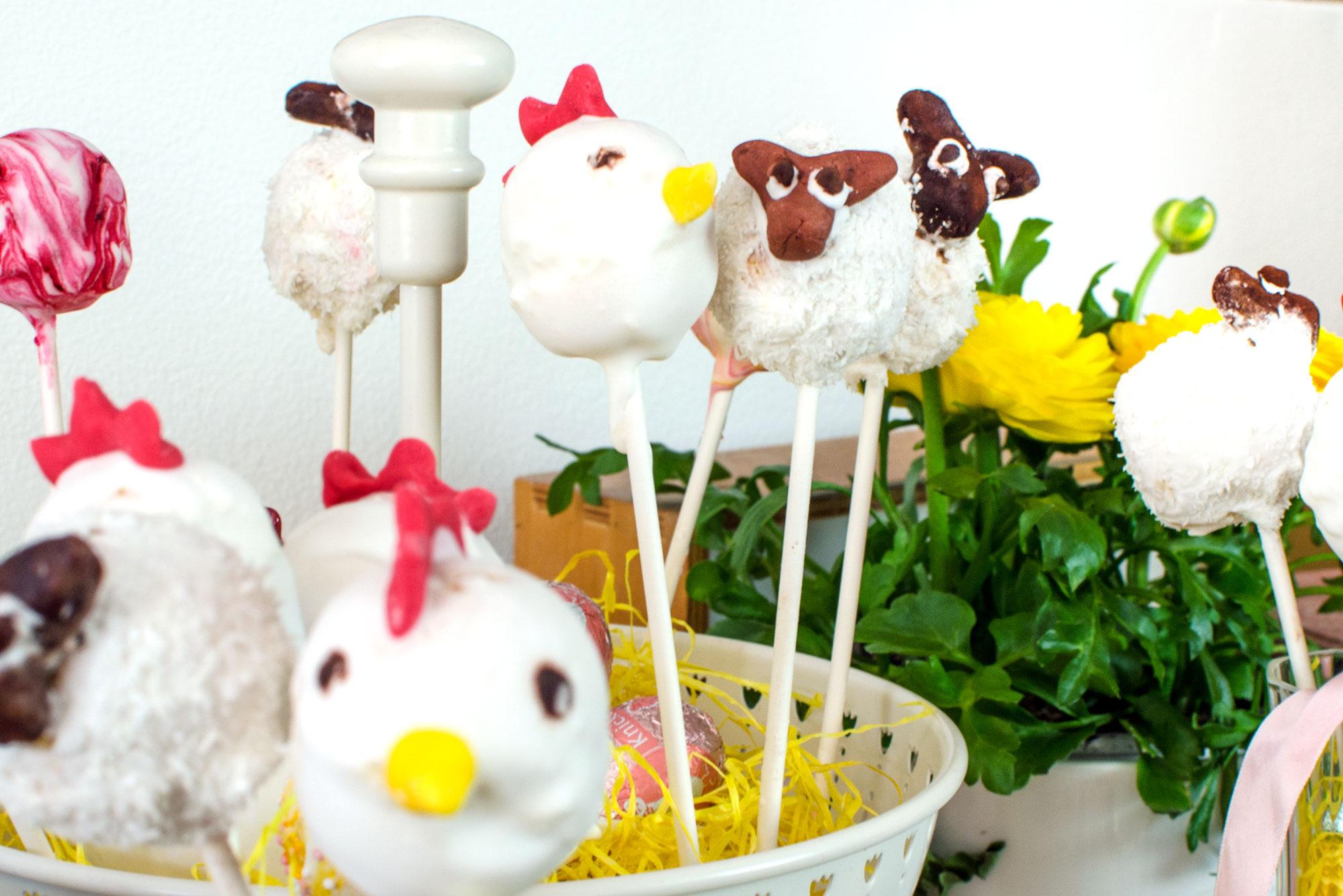 [unbezahlte werbung]Cake Pops - so cute, ob zu Ostern, Geburtstag, Party oder Mitbringsel