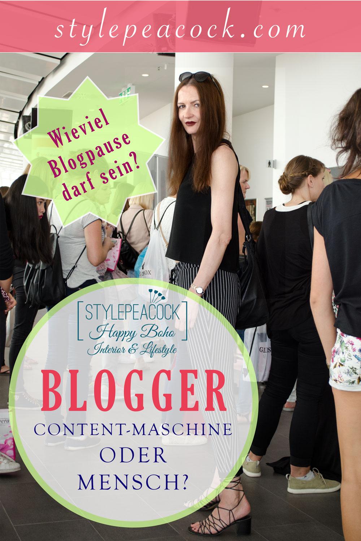 Blogger sein: Die Content-Maschine