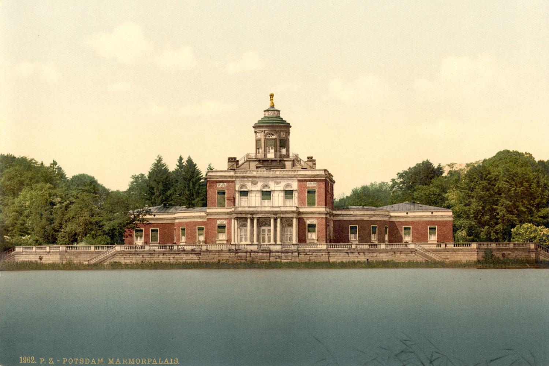 Das Marmorpalais an den Neuen Gärten in Potsdam - Geburtsort der Preußischen Prinzessin Luise Margarete