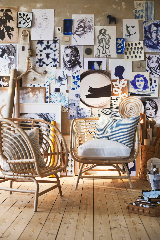 "[unbezahlte werbung]Ikea Sessel Busko Soft & Natural | Quelle: ""Inter IKEA Systems B.V. 2019"""