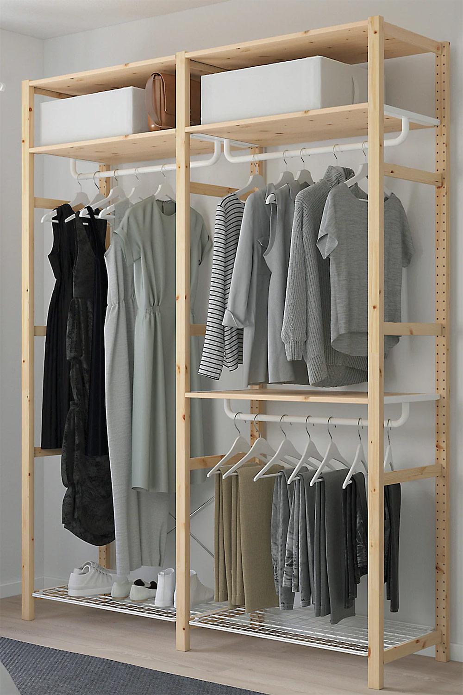 "[unbezahlte werbung]Soft & Natural IKEA Trend mit IVAR Regalsystem | Quelle: ""Inter IKEA Systems B.V. 2019"""