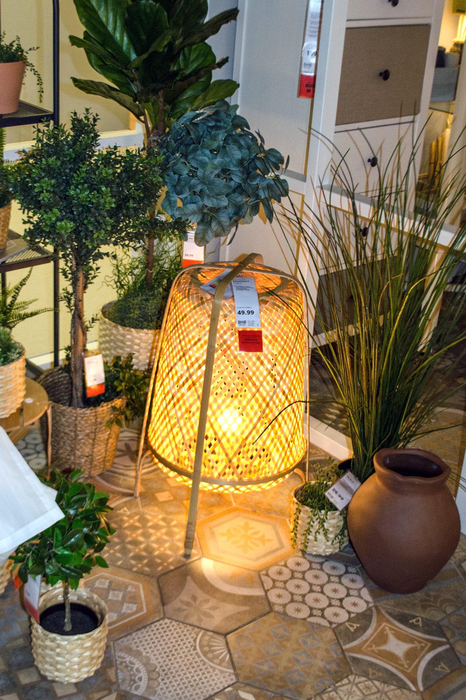 "[unbezahlte werbung]Softe Lampen aus Naturmaterial | Quelle: ""Inter IKEA Systems B.V. 2019"""