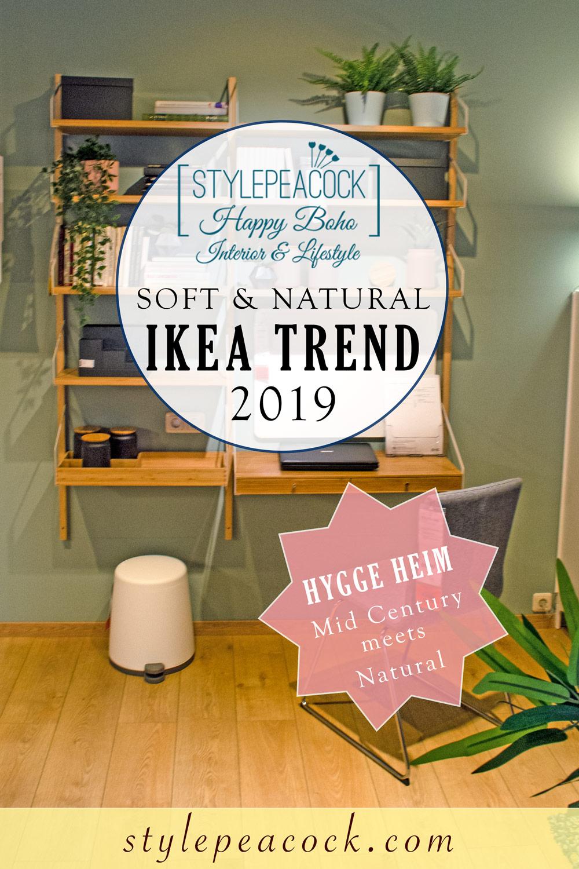 [unbezahlte werbung]IKEA Regal Svalnäs im Mid Century String Style