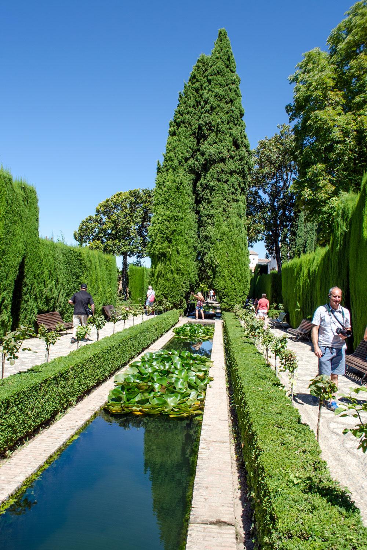 [unbezahlte werbung]La Alhambra - Was man für einen Besuch wissen muss | Die Palast-Gärten