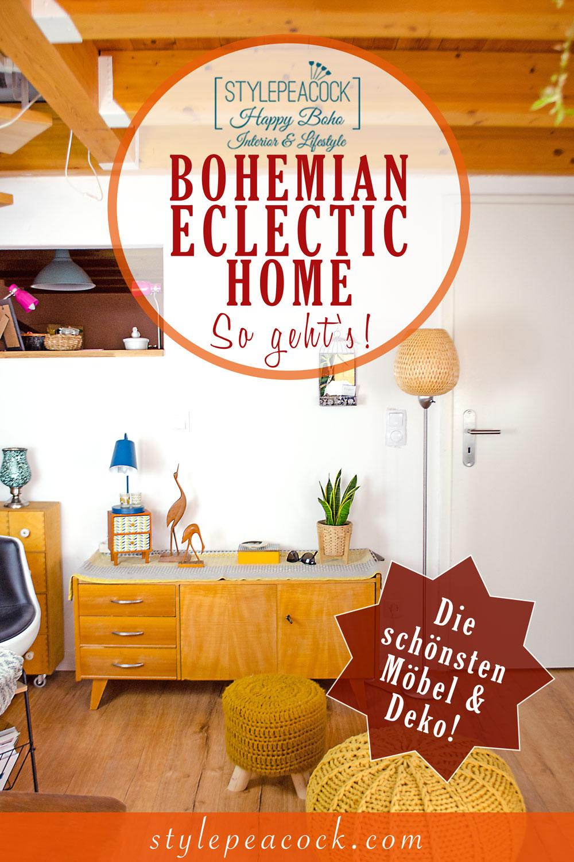 [unbezahlte werbung]Modern Bohemian Eclectic Home | So geht der angesagte eklektische Boho Wohnstil